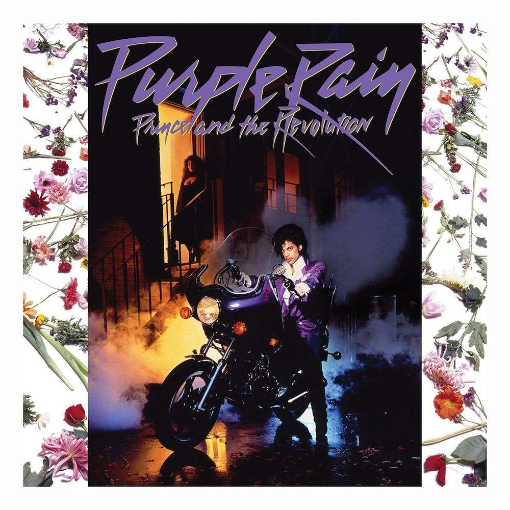 Prince Purple Rain 1984 Album Art Stretch Canvas Wall Art Poster Print Music Cd