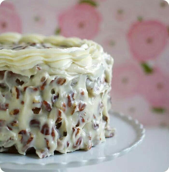 Italian Cream Cheese Cake Cakes In 2018 Pinterest Cake