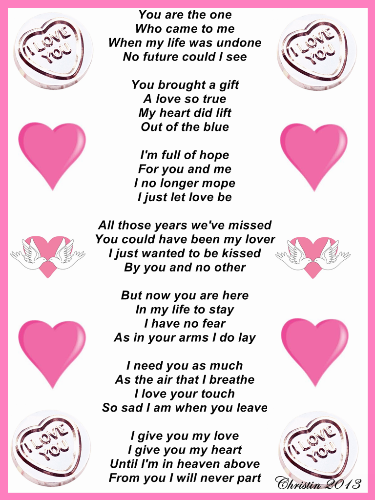 Poems For My Lover 1