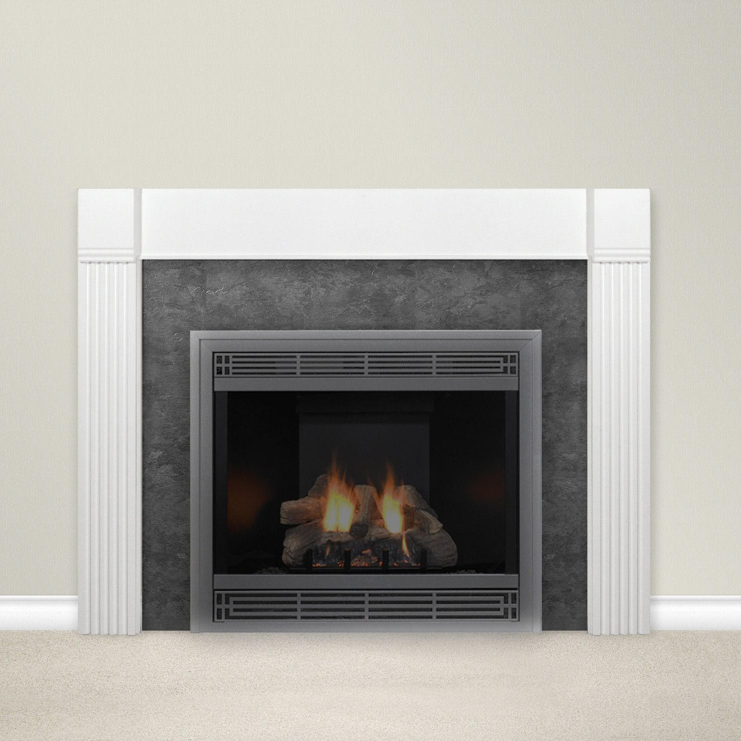 Features It Comes With Classic Styling Made From Traditional Hardwoods Made From 3 4 Inch Cabinetry Components In Classic Styling White Mantel