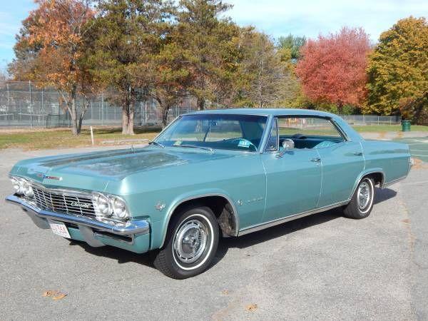 1965 Chevrolet Impala Sports Hardtop 327 V8 Rare Model Southern Va Chevrolet Impala Chevrolet Impala