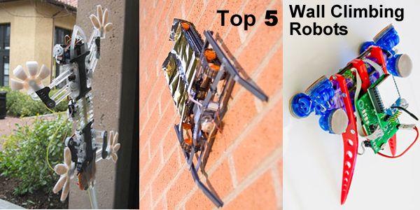 Wall climbing robots robots pinterest robot wall climbing robots ccuart Gallery