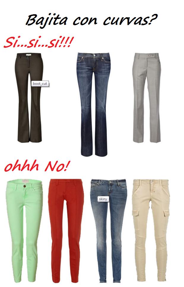 Si eres del tipo bajita y con mucha cadera o trasero este tipo de  pantalones te 6e3b5b0ebc1a