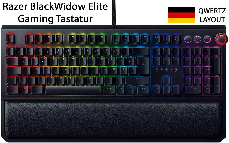 Razer Blackwidow Elite Qwertz In 2020 Gaming Tastatur Gaming Tastatur