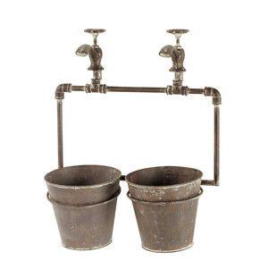 cache pot en mtal h 48 cm entretien jardinmaison du mondejardin