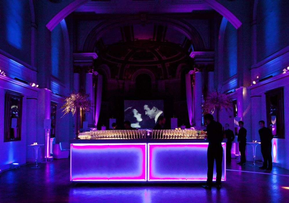 Hedge Fund Party One Marylebone Event lighting, Event