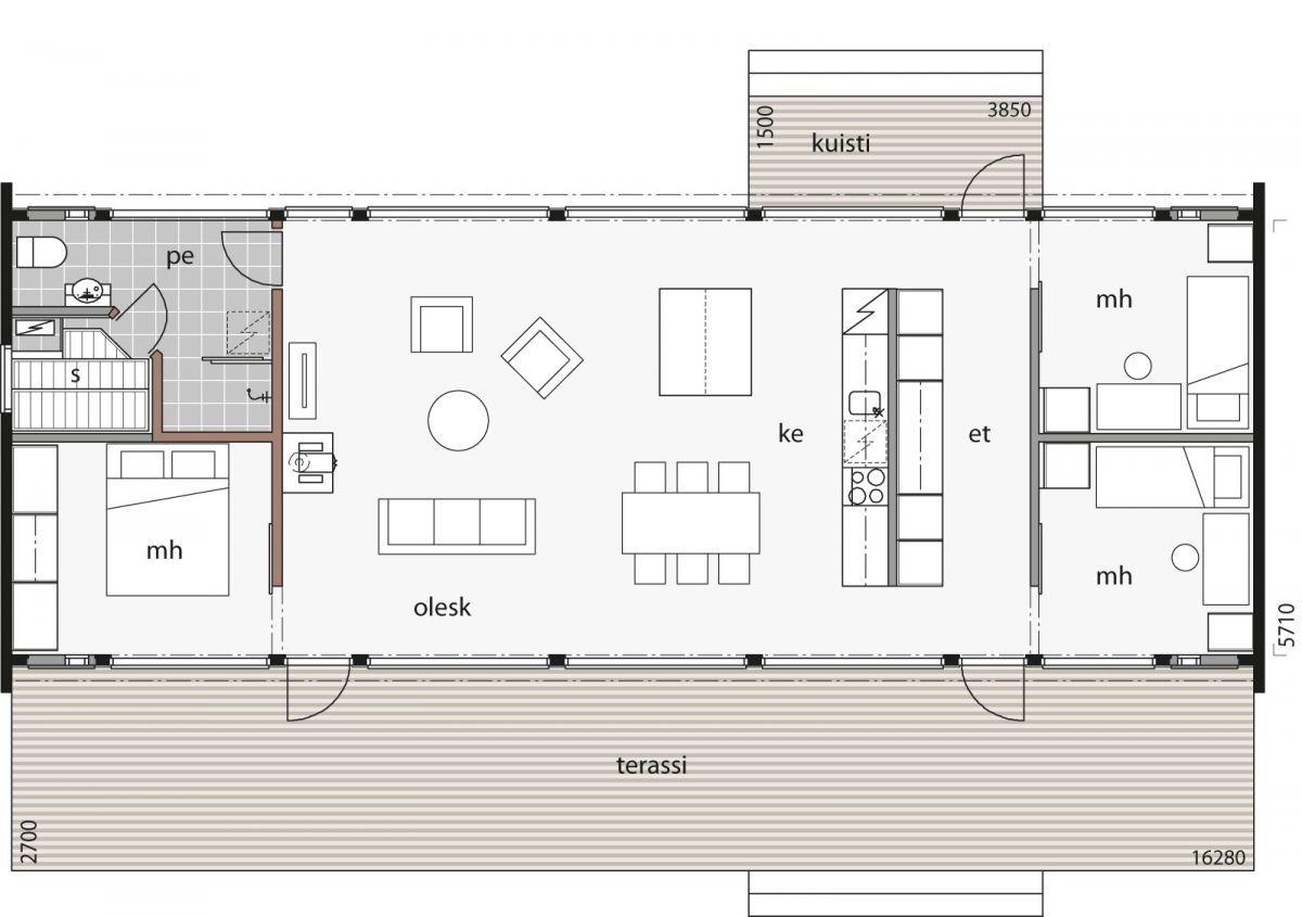 Glass House 100 On Tyylikkaan Harkittu Ja Moderni Kokonaisuus Joka Vie Vapaa Ajan Vieton Uudelle Tasolle Glass House Small House Plans Architecture House