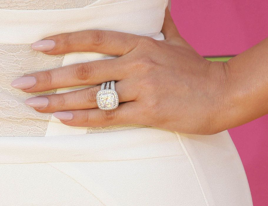 khloe kardashians engagement ring from soon to be ex husband lamar odom is a 125 - Khloe Kardashian Wedding Ring