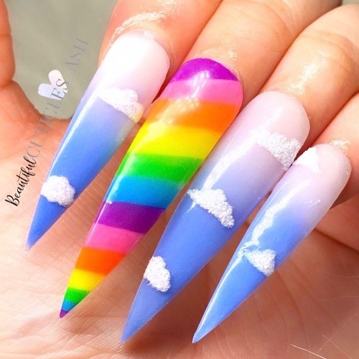 🌈 stay home 🌈 #showscratch #scratchmagazine @scratchmagazine ... . .  #ombrenails #ombre #swarovski #swarovskinails #spring #springiscoming #nailsofinstagram #nails #naildesigns #nailsonfleek #inspo #beautyinfluencer #beautyindustry #cuticleoil #highsmile #chesternails #naildayisthebestday #nailart #pinknails #purplenails #glitternails #glitter #nailtech #shinyclaws #shinnynails  #summer #summervibes