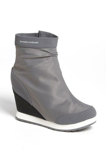 sale new arrival Hussein Chalayan x Puma Leather Wedge Booties cheap 100% original buy cheap prices u6ZntPSo3