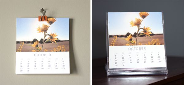 Shutter Sisters Free 2012 Photo Calendar Template - Sized To Fit