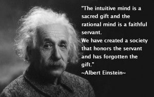 The sacred gift of the intuitive mind...