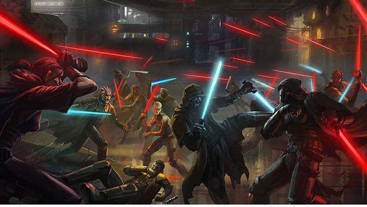 The Cold War 3651 Bby 12 Year War Between The Jedi Sith Starwars Oldrepublic Starwarslegends Star Wars Wallpaper Star Wars The Old Ultimate Star Wars