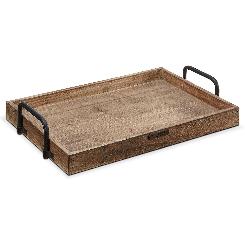 Breakfast Tray Black Handles Value City Furniture