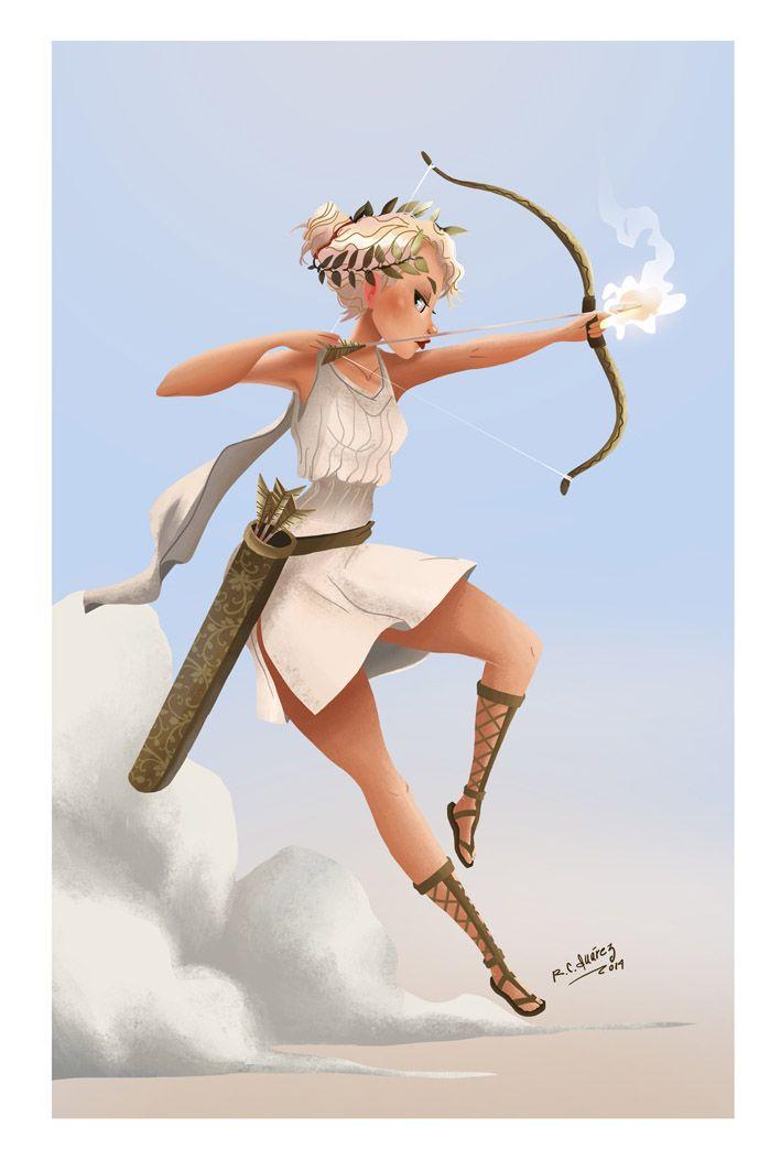 Artemis Mythologie Grecque Artemis Deesse Dieux Grecs