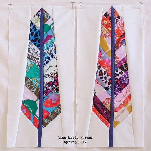 Anna Marie Horner's feather block.