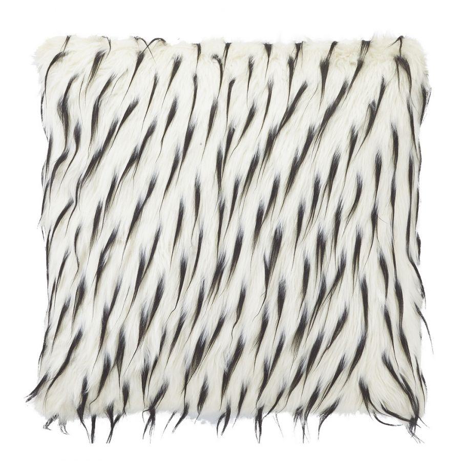 Kissenhülle Spicata - Acrylic / Polyester - Weiss - 45x45 cm