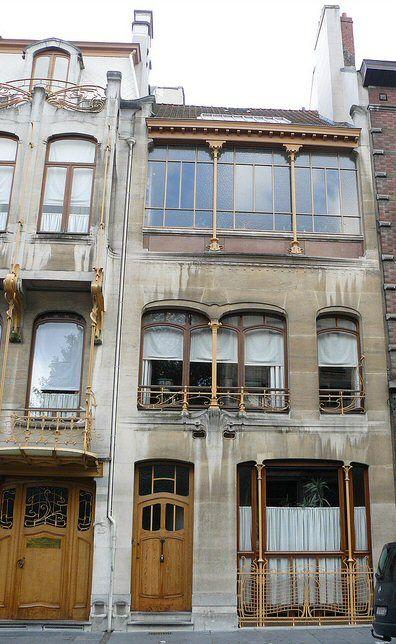 Musée horta 1898 1901 23 25 rue américaine bruxelles 1060