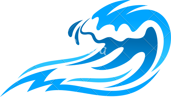 Ocean Waves Design Icon Water Waves Icon Waves