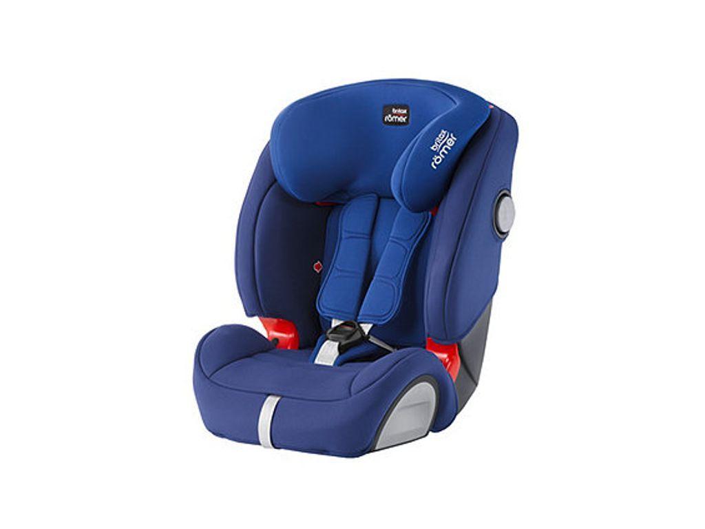 c533c903b09e Britax R mer Evolva 123 SL SICT High Back Booster Car Seat with Harness -  Ocean Blue