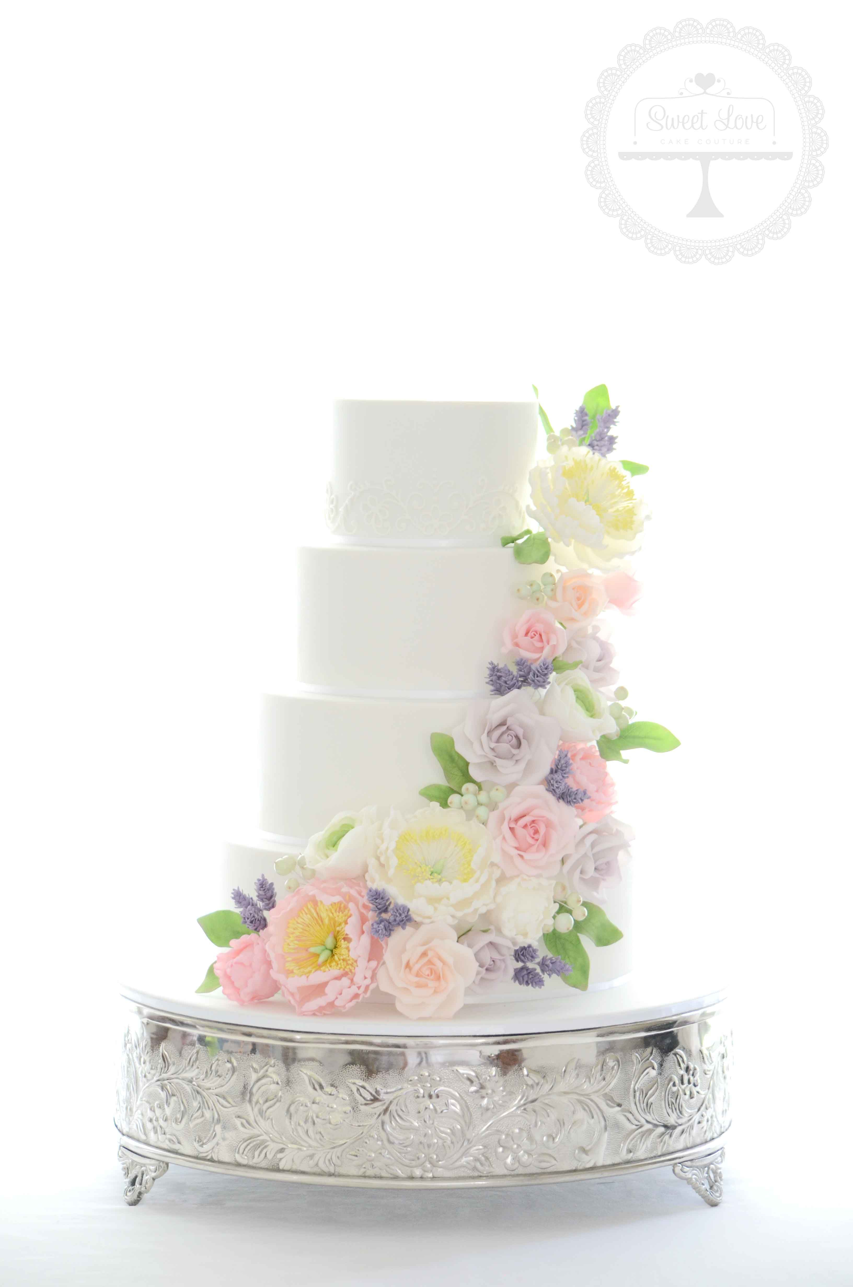 Wedding Cakes | Sweet Love Cake Couture - Coffs Harbour Wedding Cake ...