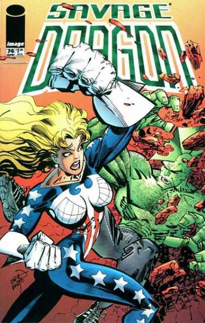 American Woman Stay Away From Me With Images Savage Dragon