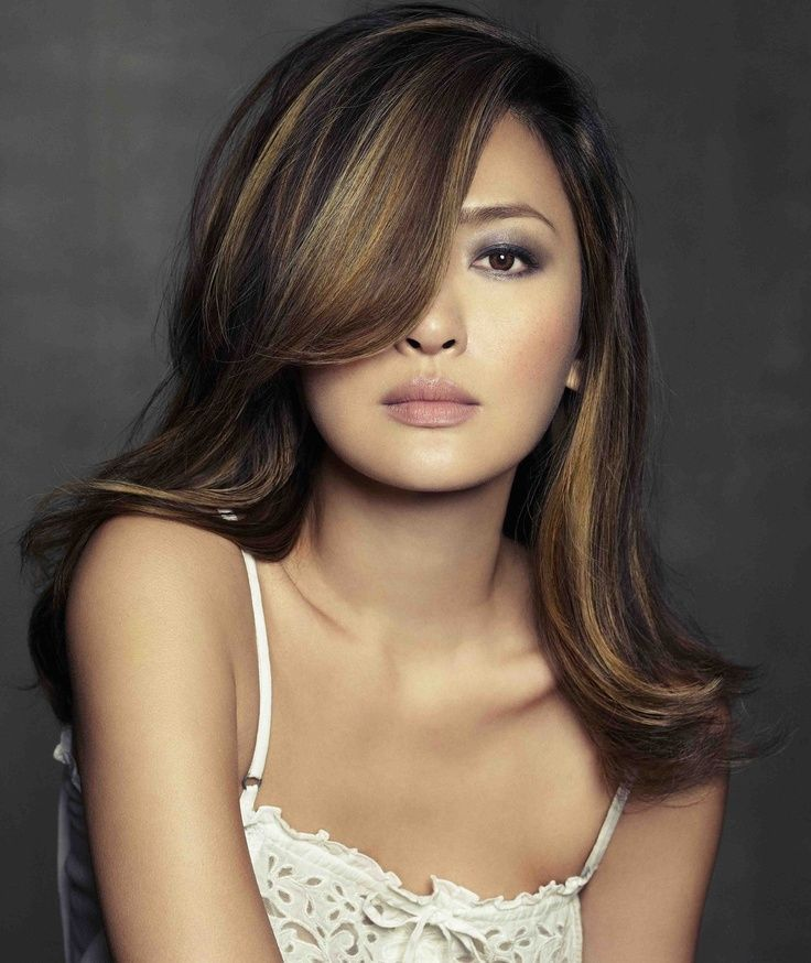 Light Ash Brown Hair Color Asian With
