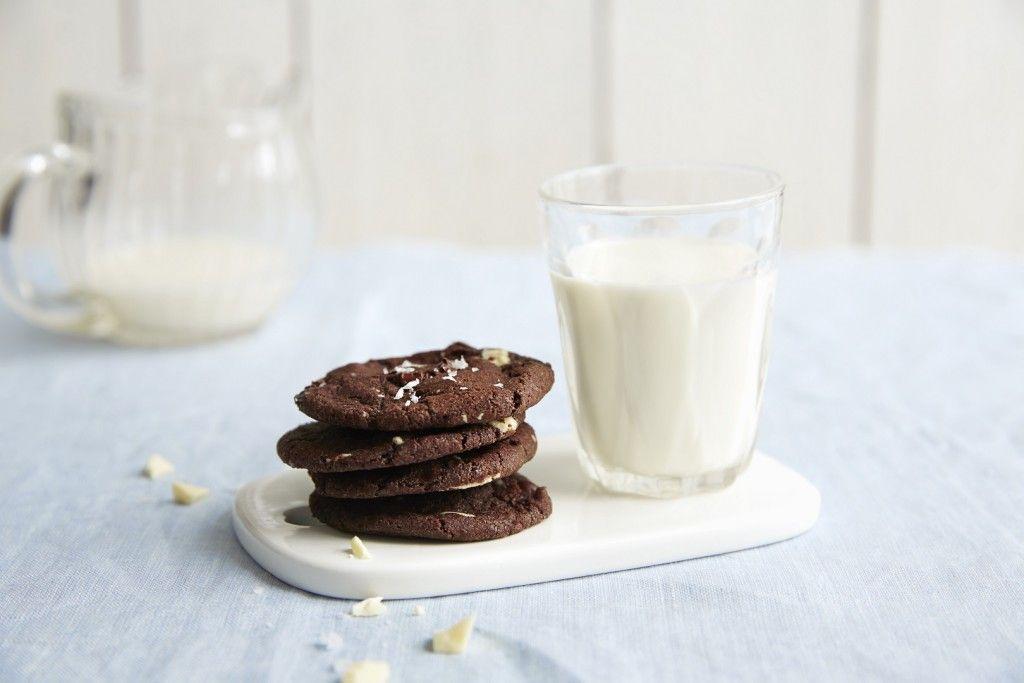 Sjokoladecookies med havsalt