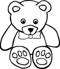 Resultado De Imagen De Dibujos De Osos Tiernos Teddy Bear Coloring Pages Bear Coloring Pages Teddy Bear Outline