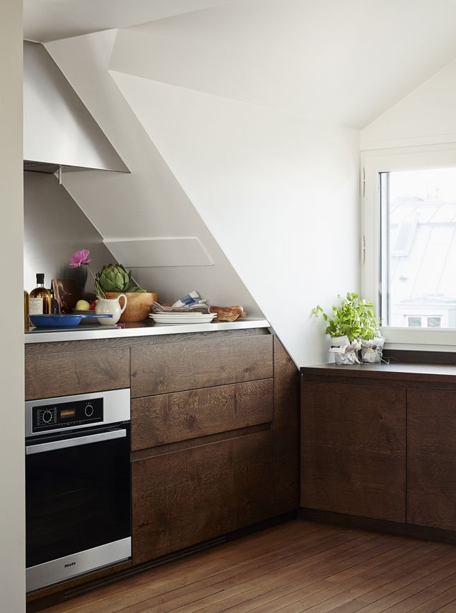 Verweilen Im Stil In Paris Design Ideen Dachgeschosswohnung