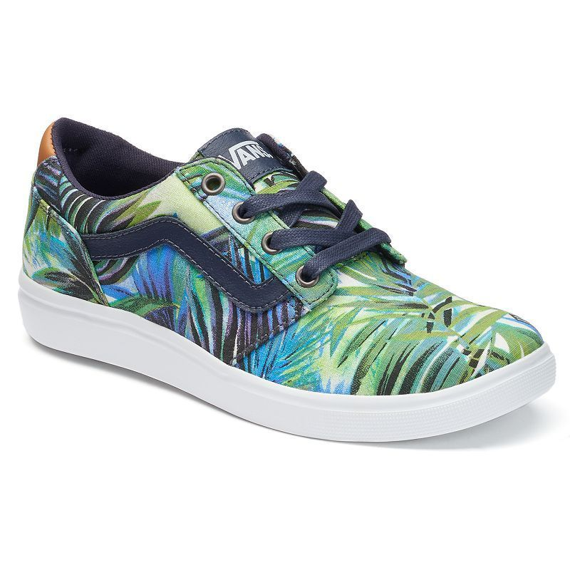 1b541dacda56 Vans Chapman Lite Palm Print Women s Skate Shoes