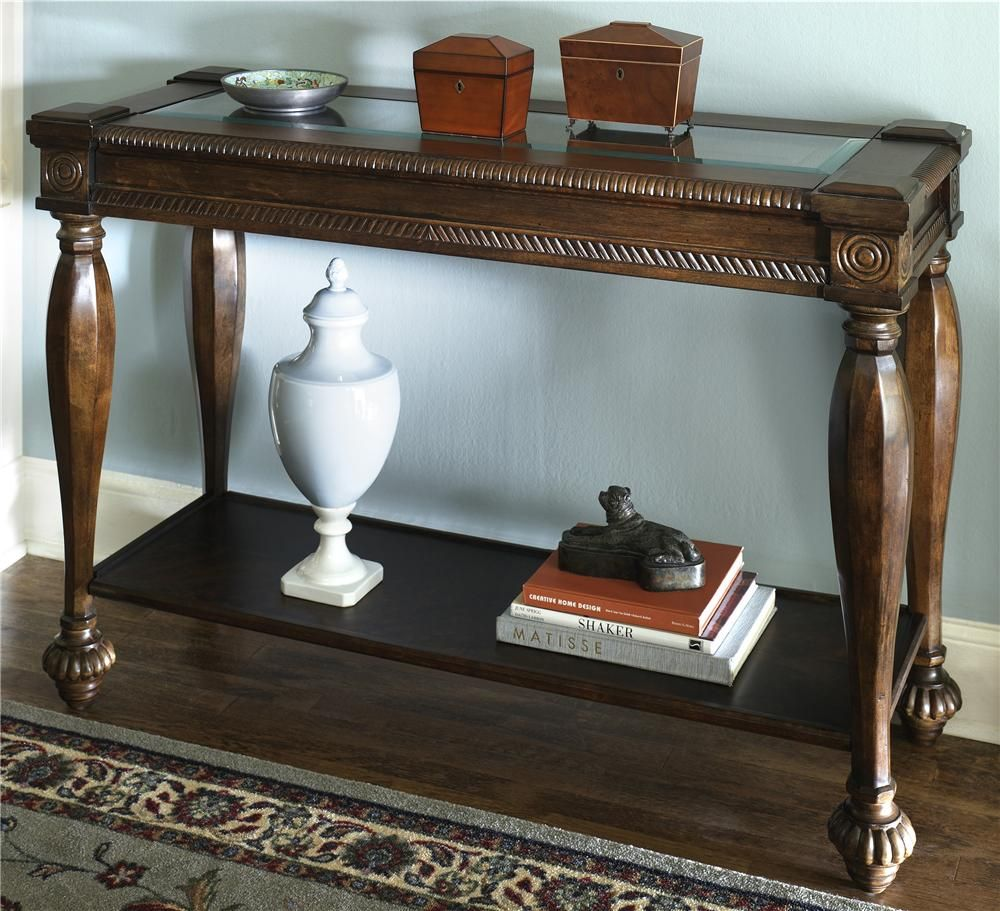 Mantera sofa table by signature design by ashley new home decor sofa tables geotapseo Images