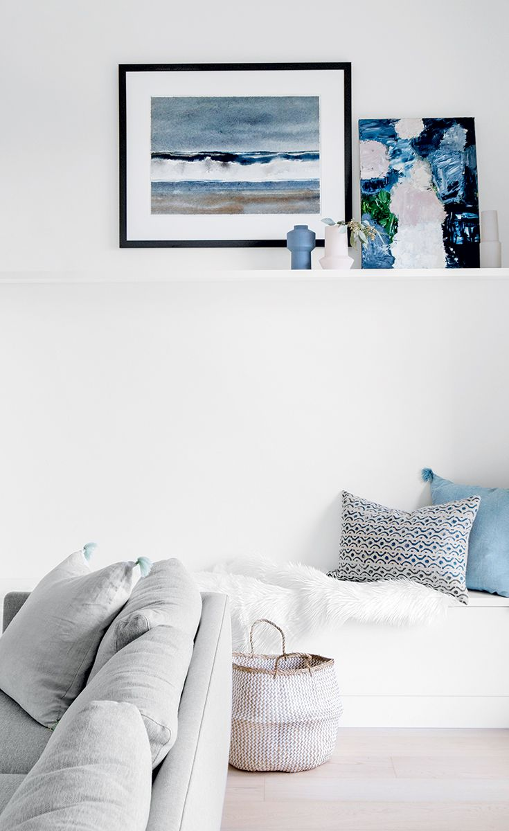 A Vancouver home decorated around the homeowner's art ...