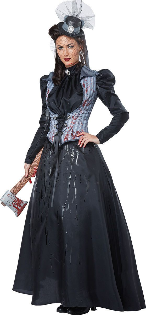 Details about California Costumes Collections Adult Lizzie Borden/Victorian Lady Dress. 01386