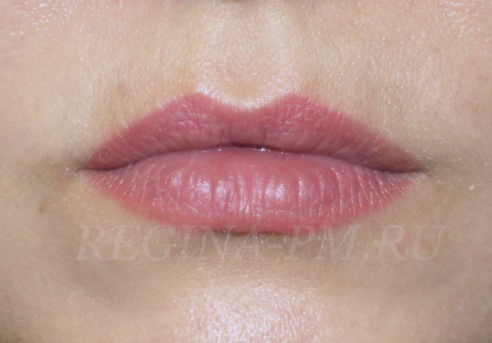 перманентный макияж губ фото