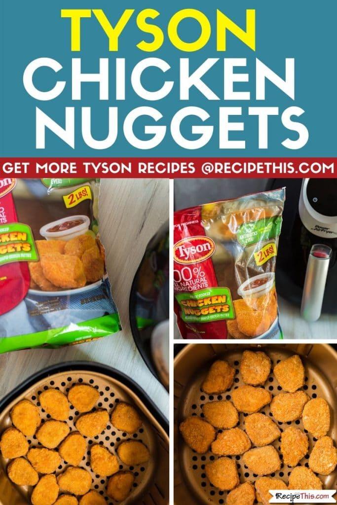 Tyson Chicken Nuggets em 2020