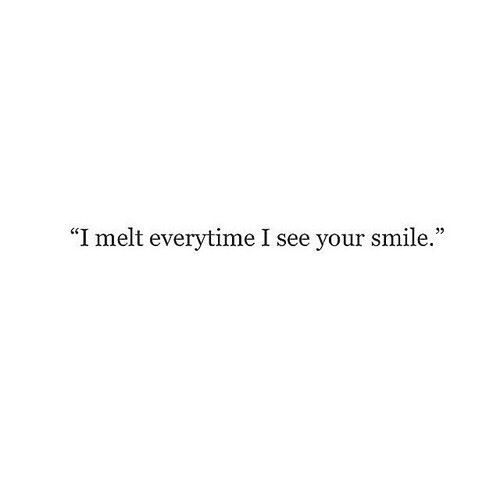 Pin By Rebecca On L O V E His Smile Quotes Make Me Happy Quotes Mixed Feelings Quotes