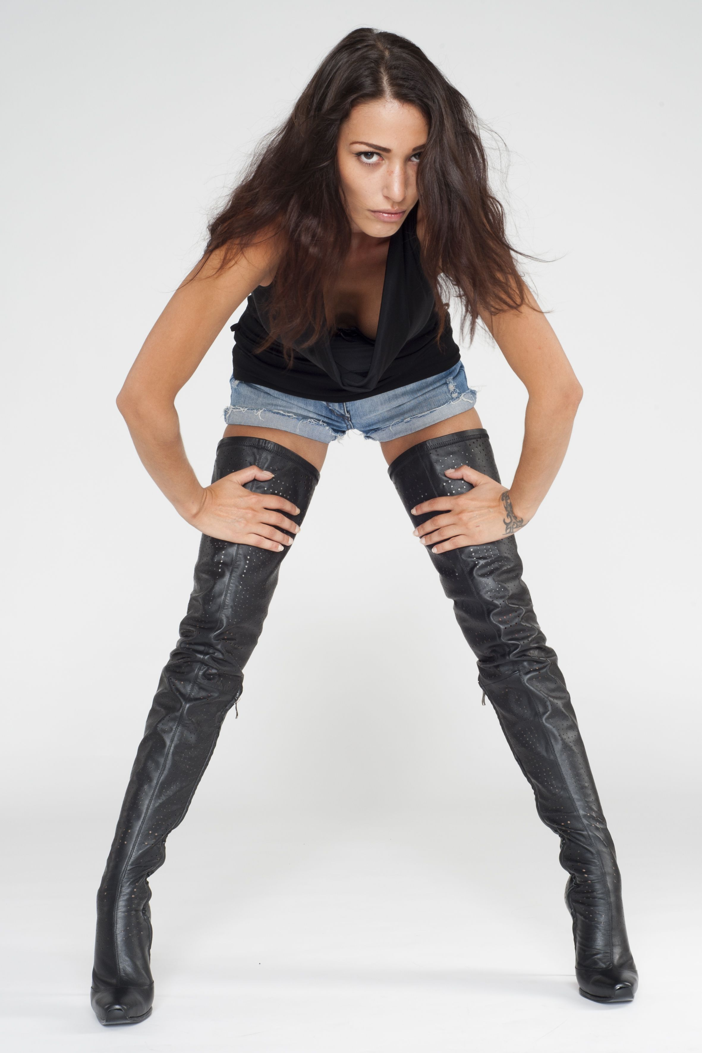 AROLLO real leather Thigh High Boots on http//:www.arollo.net ...