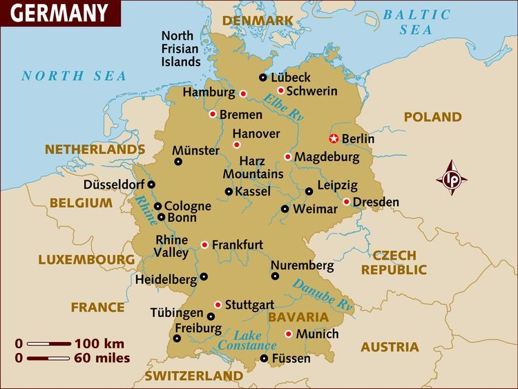 Where Does The Word German Come From Germany Map Heidelberg