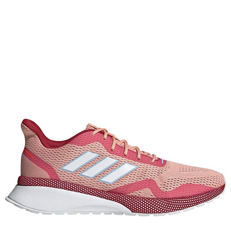 Adidas Women's Nova Fvse X Running Shoes (Pink/White/Maroon ...