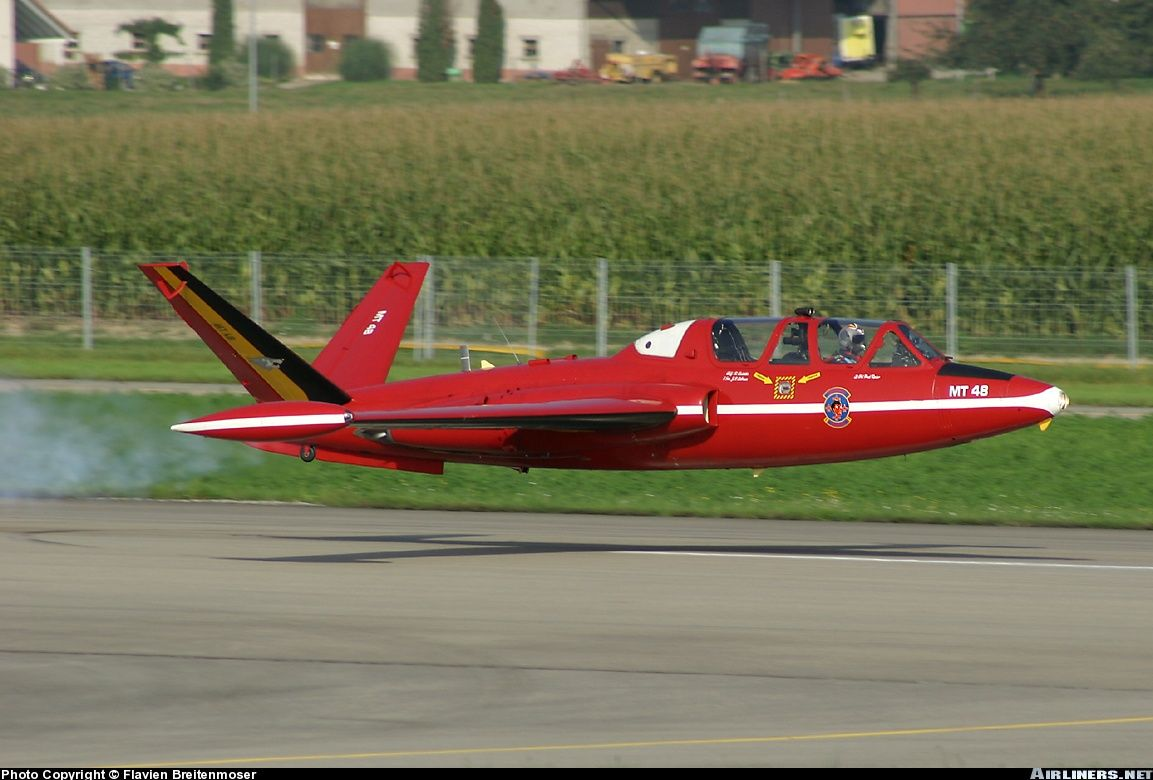 Fouga CM170R Magister low pass Things That Fly