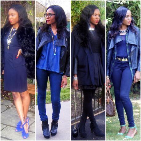 97e6f87c07 Outfit Ideas  Blue + Black