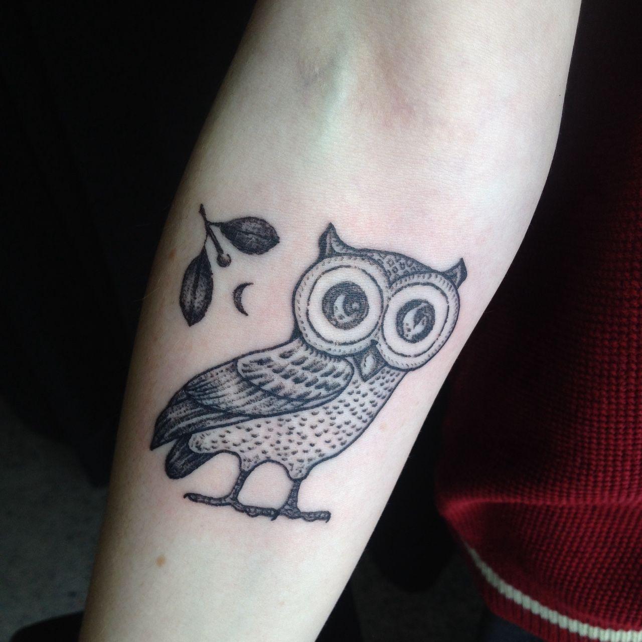 Athena Owl Tattoo Google Search Body Art Tattoos