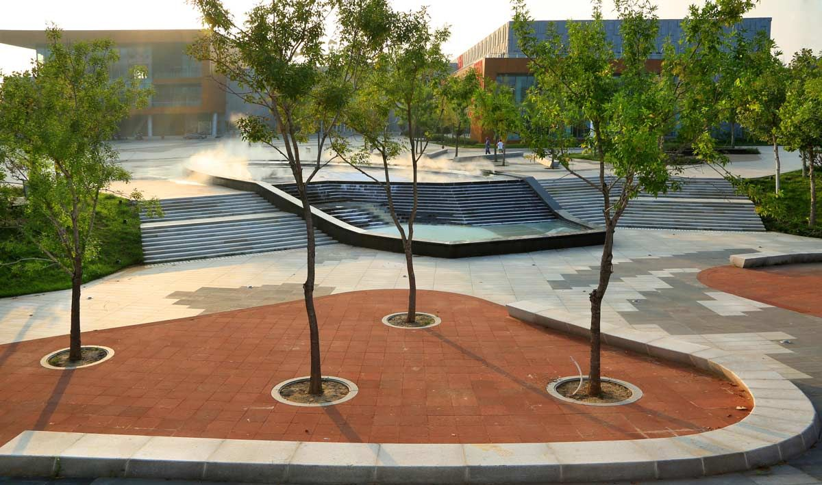 Cultural Plaza Park 17 Landscape Architecture Works Landscape And Urbanism Landscape Architecture Design Landscape Architecture