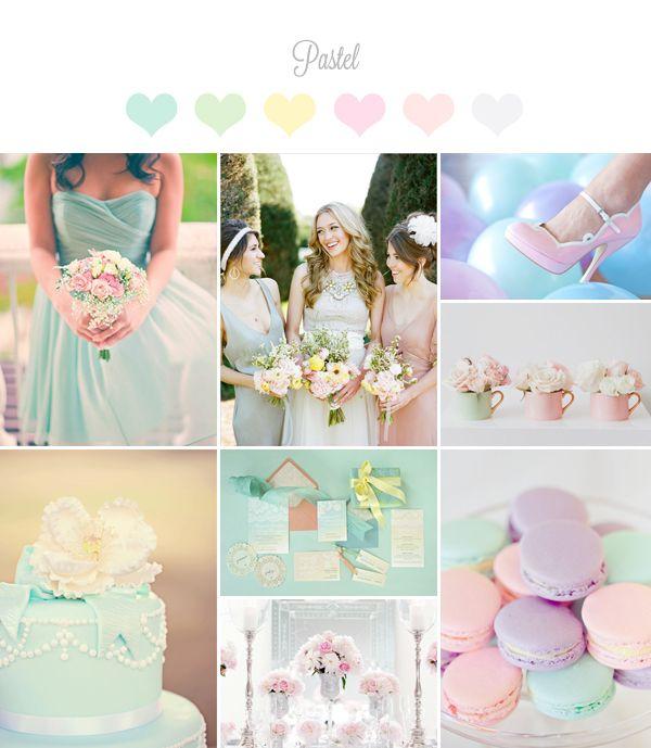 Lovely Pastel Wedding Palette