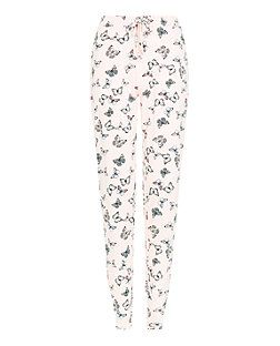 71e46bc300 Pink Butterfly Print Pyjama Bottoms