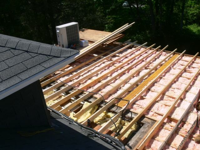 Best Framing A Flat Roof With Slight Pitch In Preparation For 400 x 300