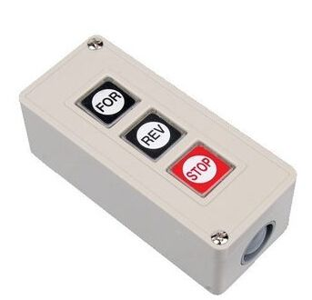 Three Wire Push Button For Barrier Gates And Gate Openers/Commercial Garage Door  Opener Three Button Station