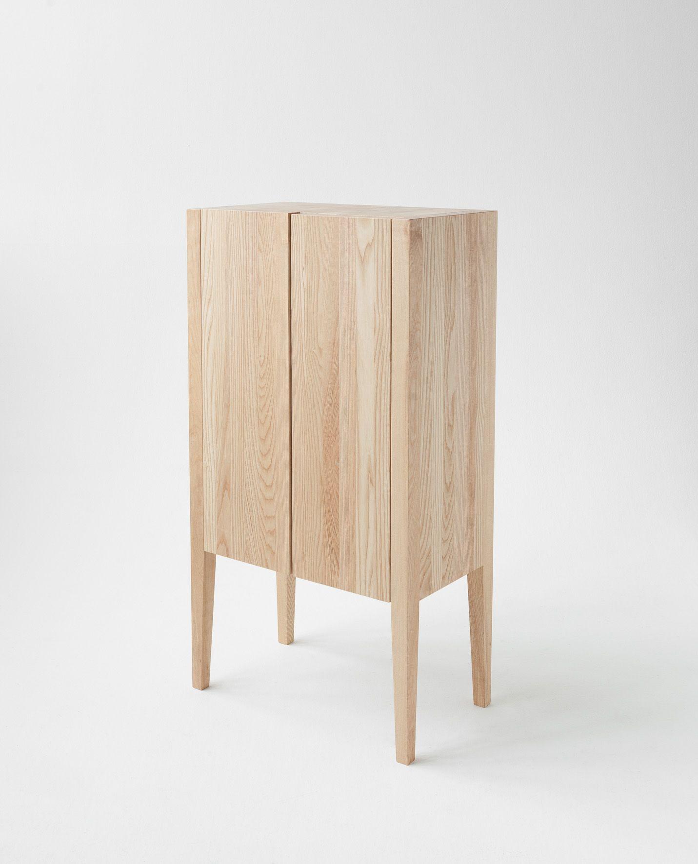 45x45 Sk P Fr N Scandinavian Wood High Sideboard