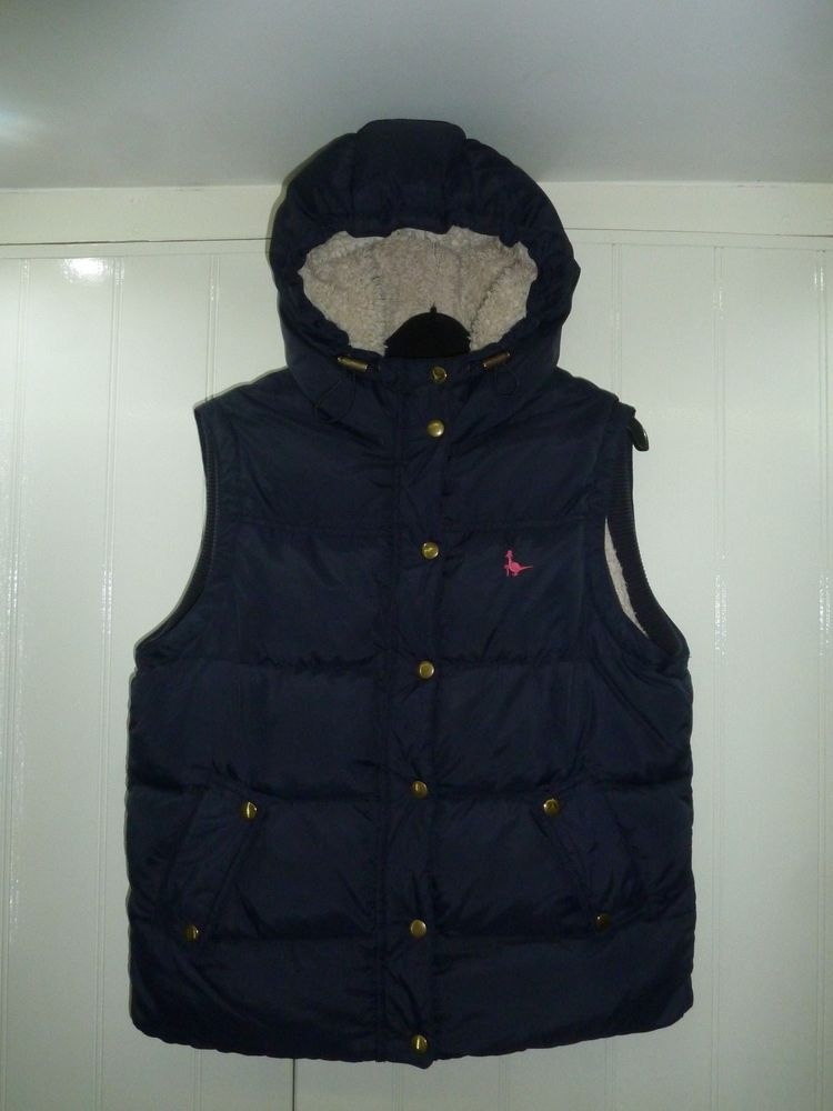 171ecf55c97 Ladies Navy Blue Duck Down & Feather Lined Hooded Gilet by Jack Wills in  Size 14 #fashion #clothing #shoes #accessories #womensclothing  #coatsjacketsvests ...